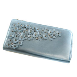 アンテプリマ フラワーモチーフ 長財布(小銭入れあり)レディース