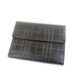 バーバリー ノバチェック 二つ折り財布(小銭入れあり)ユニセックス