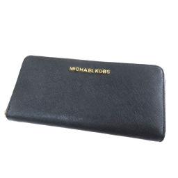 マイケルコース ロゴマーク 長財布(小銭入れあり)レディース