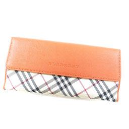 バーバリー ノバチェック 長財布(小銭入れあり)レディース