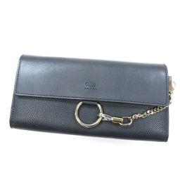 クロエ ロゴモチーフ 長財布(小銭入れあり)レディース