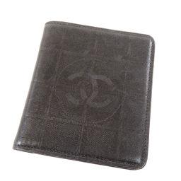 シャネル ニュートラベルライン 二つ折り財布(小銭入れなし)レディース