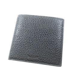バリー ロゴモチーフ 二つ折り財布(小銭入れあり)メンズ