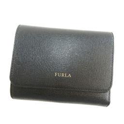 フルラ ロゴタイプ 二つ折り財布(小銭入れあり)レディース
