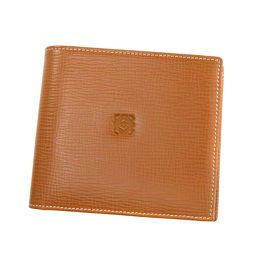 ロエベ ロゴマーク 二つ折り財布(小銭入れあり)レディース