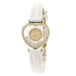 ショパール 20/4516 ハッピーダイヤモンド ハート 7PムービングD 腕時計レディース