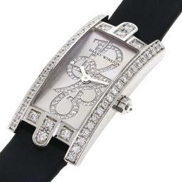 ハリーウィンストン 332LQWL.WD/D3.1 アヴェニュー C ミニ ダイヤモンド 腕時計レディース