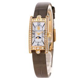ハリーウィンストン AVCQMP16RR001 アヴェニューCミニ ムーンフェイズ 腕時計レディース
