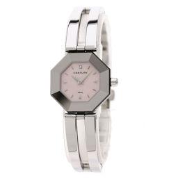 センチュリー ラッキーエイト 1Pダイヤモンド 腕時計レディース