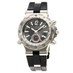 ブルガリ DP42C14SVDGMT ディアゴノ プロフェッショナル 腕時計メンズ