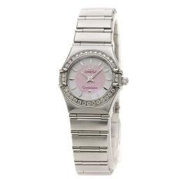 オメガ 1466.85 コンステレーション ベゼル 腕時計レディース