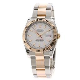 ロレックス 116261 デイトジャスト ターノグラフ 腕時計メンズ