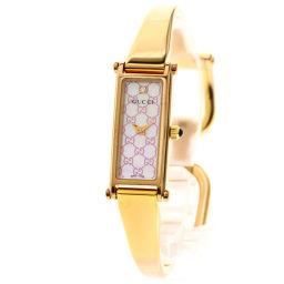 グッチ 1500L 1Pダイヤモンド 腕時計レディース