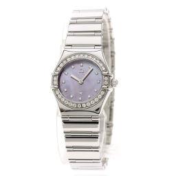 オメガ 1457.78 コンステレーション USA限定 ベゼルダイヤモンド 腕時計レディース