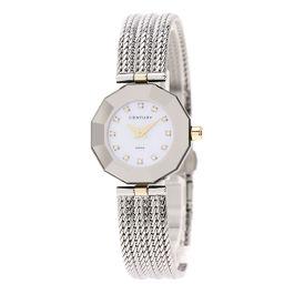センチュリー 136887 タイムジェム 12Pダイヤモンド 腕時計レディース