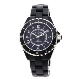 シャネル H3131 J12 マットブラック 42mm 腕時計 OH済メンズ