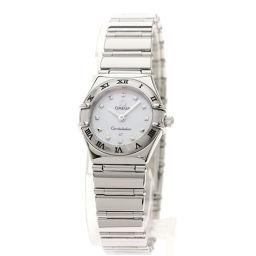 オメガ 1561.71 コンステレーションミニ ベゼルダイヤモンド 腕時計レディース