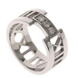 ティファニー アトラス オープン ダイヤモンド リング・指輪レディース