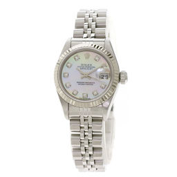 Rolex 79174NG Datejust 10P Diamond Watch OH Finished Ladies