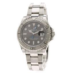ロレックス 116622 ヨットマスター40ロレジウム ダークロジウム 腕時計メンズ
