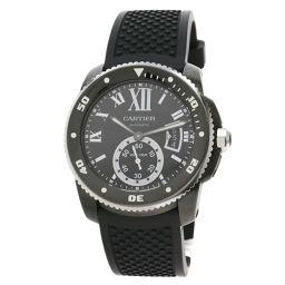 カルティエ WSCA0006 カリブルダイバー 腕時計メンズ