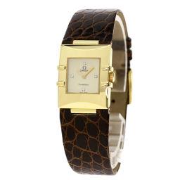 オメガ 1631.77.12 コンステレーション カレ クアドラ 腕時計レディース