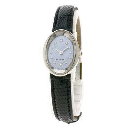 ブルガリ OVW27G オーバル 12Pダイヤモンド 腕時計レディース