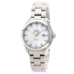 欧米茄231.10.34.20.55.001 Seamaster Aqua Terra 12P Diamond Watch Ladies
