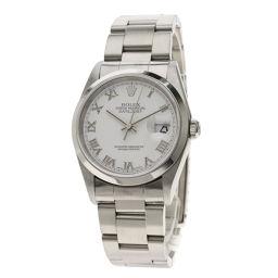 ロレックス 16200 デイトジャスト ホワイトローマン 腕時計メンズ