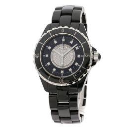 シャネル H1757 J12 センターダイヤモンド 腕時計メンズ
