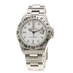 ロレックス 16570T エクスプローラー2 腕時計 OH済メンズ