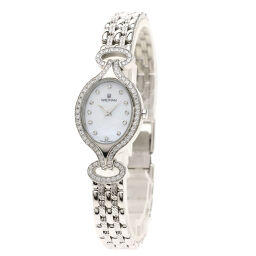 Waltham Waltham 12P Bezel Diamond Watch Ladies
