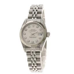 ロレックス 79174G デイトジャスト 10Pダイヤモンド 腕時計レディース