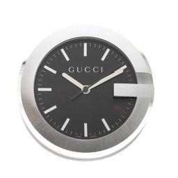 グッチ 210 テーブルクロック G ラウンド 置時計ユニセックス