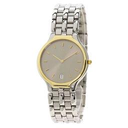 オメガ ラウンドフェイス 腕時計メンズ
