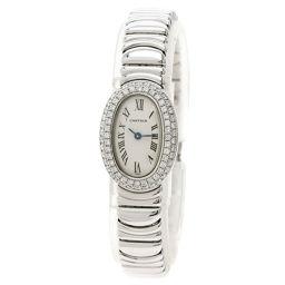 カルティエ WB5095L2 ミニベニュワール ベゼル ダイヤモンド 腕時計レディース