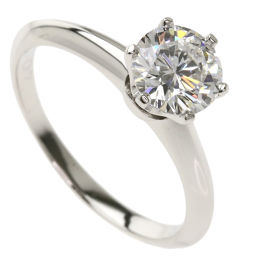 Tiffany Diamond E-VVS2-VG-N Rings and Rings Ladies