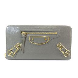 バレンシアガ ベルトモチーフ 長財布(小銭入れあり)レディース