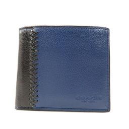 コーチ F75225 ロゴ型押し 二つ折り財布(小銭入れあり)メンズ