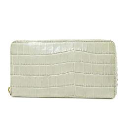 フルラ 型押し 長財布(小銭入れあり)レディース