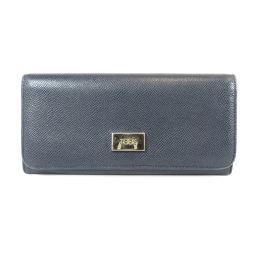 トッズ ロゴプレート 長財布(小銭入れあり)レディース