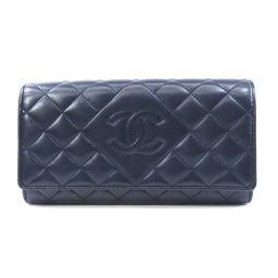 シャネル マトラッセ 長財布(小銭入れあり)レディース