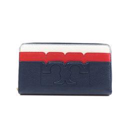 トリーバーチ ロゴデザイン 長財布(小銭入れあり)レディース