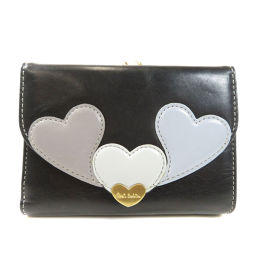 Paul ・ Smith Heart motif Two-fold wallet (with coin purse) Ladies