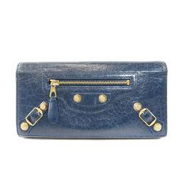 バレンシアガ ベルトデザイン 長財布(小銭入れあり)レディース