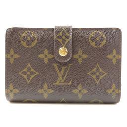 ルイヴィトン M61674 ポルトフォイユ・ヴィエノワ ガマグチ 二つ折り財布(小銭入れあり)レディース