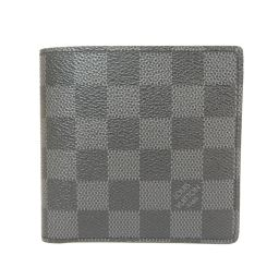 ルイヴィトン N63336 ポルトフォイユ・マルコ 二つ折り財布(小銭入れあり)メンズ