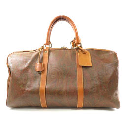 Etro Paisley Pattern Boston Bag Unisex