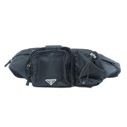 プラダ VA0056 ロゴプレート ヒップバッグ・ウエストバッグユニセックス