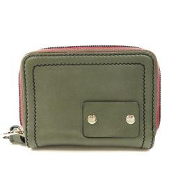 クロエ ロゴモチーフ 二つ折り財布(小銭入れあり)レディース